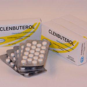 CLENBUTEROL blister (20) EP tabl