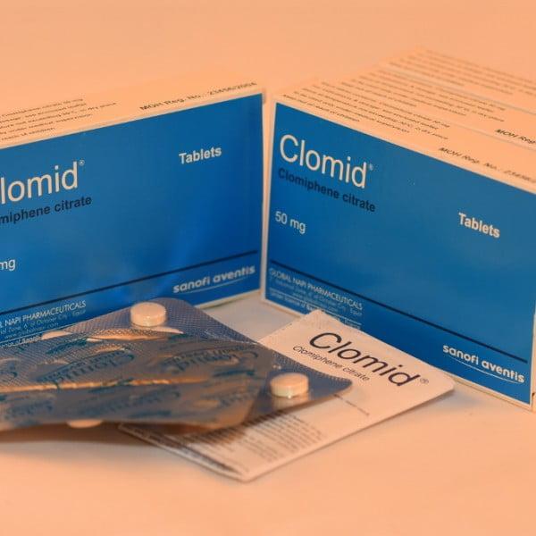 CLOMID Clomifene Citrate 50mg