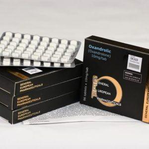 OXANDROLIC 10 mg