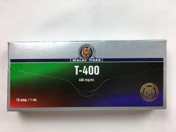 T-400 przód opakowania