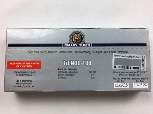 TrENOL-100 tył opakowania
