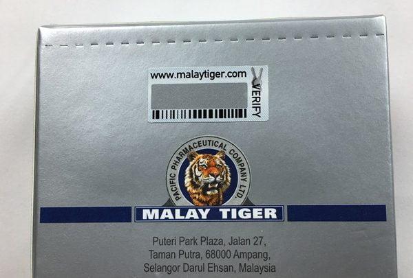 STANOZOLOL Malay opakowanie tył