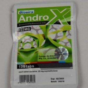 AndroX 25mg