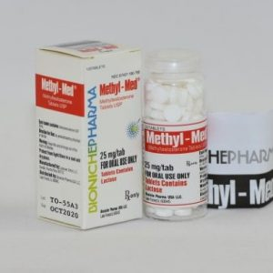 Methyl-Med 120tab (25mg) BP