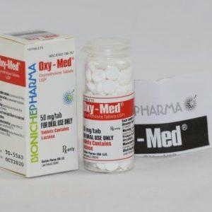 Oxy-Med 120tab (50mg) BP